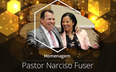 Homenagem do Setor 115 - Assembleia de Deus - Ministério Belém, Pelo aniversário do Pastor Narciso Fuser
